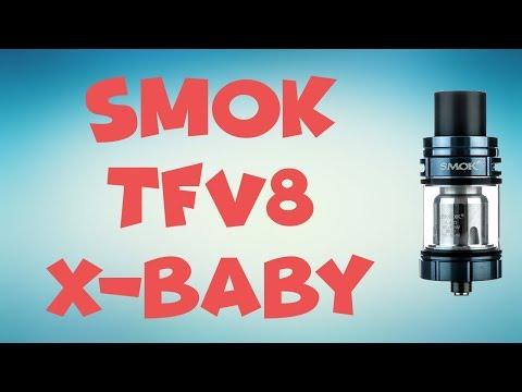 Smok TFV8 X-Baby - nowy parownik od SMOK !