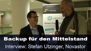 Novastor/Fujitsu: Backup-Lösung für den Mittelstand - Fujitsu Forum 2014