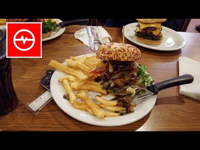 LOTem do USA   Burgery kolacyjne i wielka Amerykańska fura   LV#1