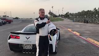 "Team ""RING DINGER"" 2018 Corvette Z06 Friday Night Racing At Houston Motorsports Park"