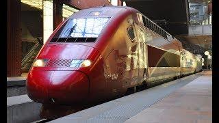 ベルギーを走行する列車 [THALYS, IC, L, S]