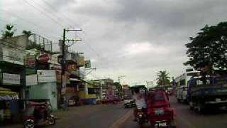 Santiago city road