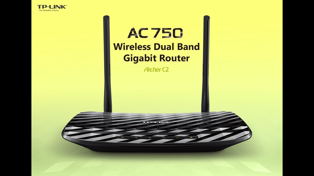 Image result for TP LINK ROUTER ARCHER C2 AC750