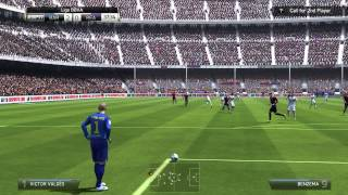 FIFA 14 Barcelona Vs Real Madrid PC Gameplay