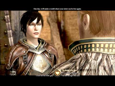 Dragon Age 2 - Anders Female Friendship Romance