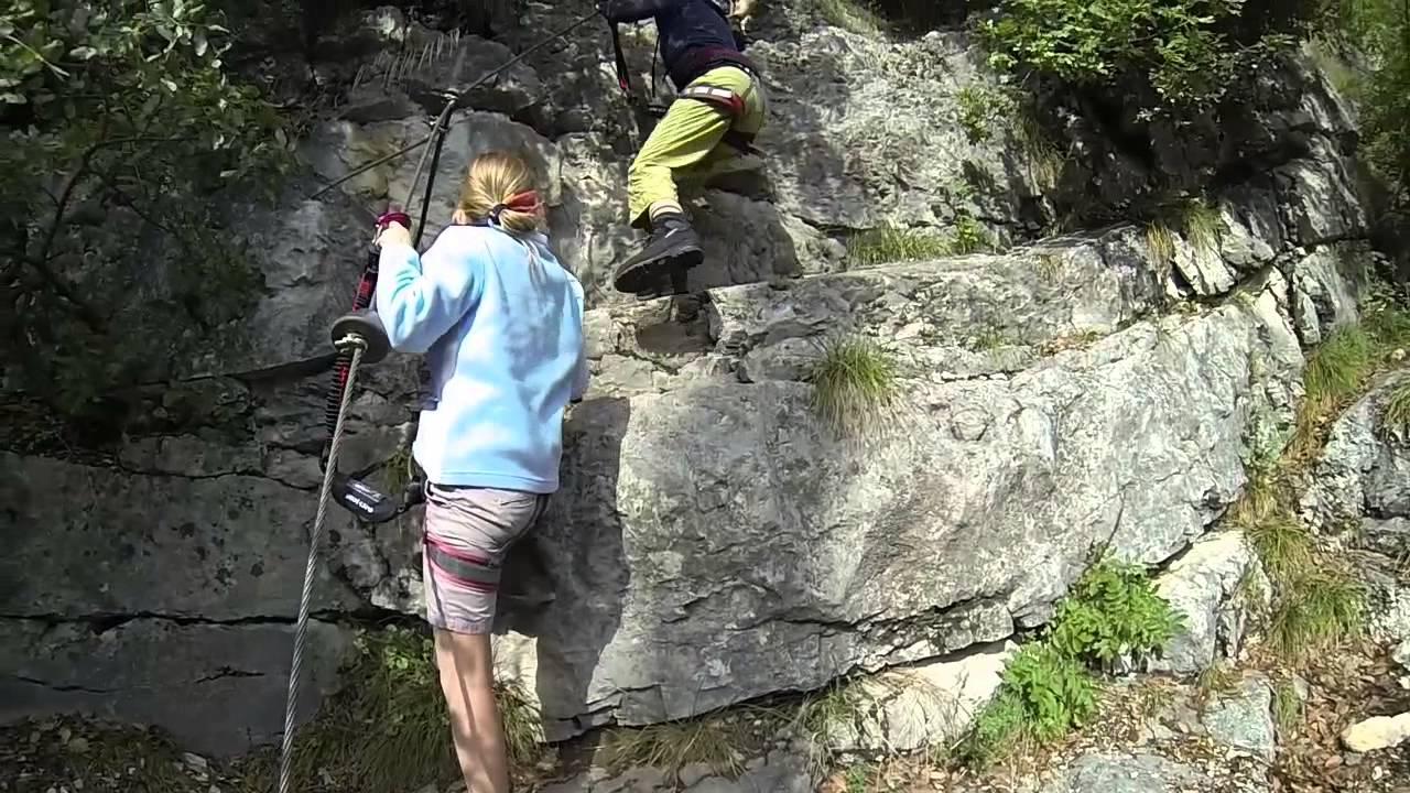 Klettersteig Colodri : Klettersteig colodri in arco am gardasee mit den bergführern aus