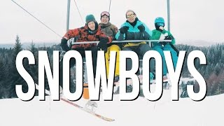 Cover images Snowboys