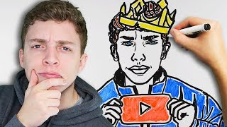 Reacting to DRAW MY LIFE! (secret)