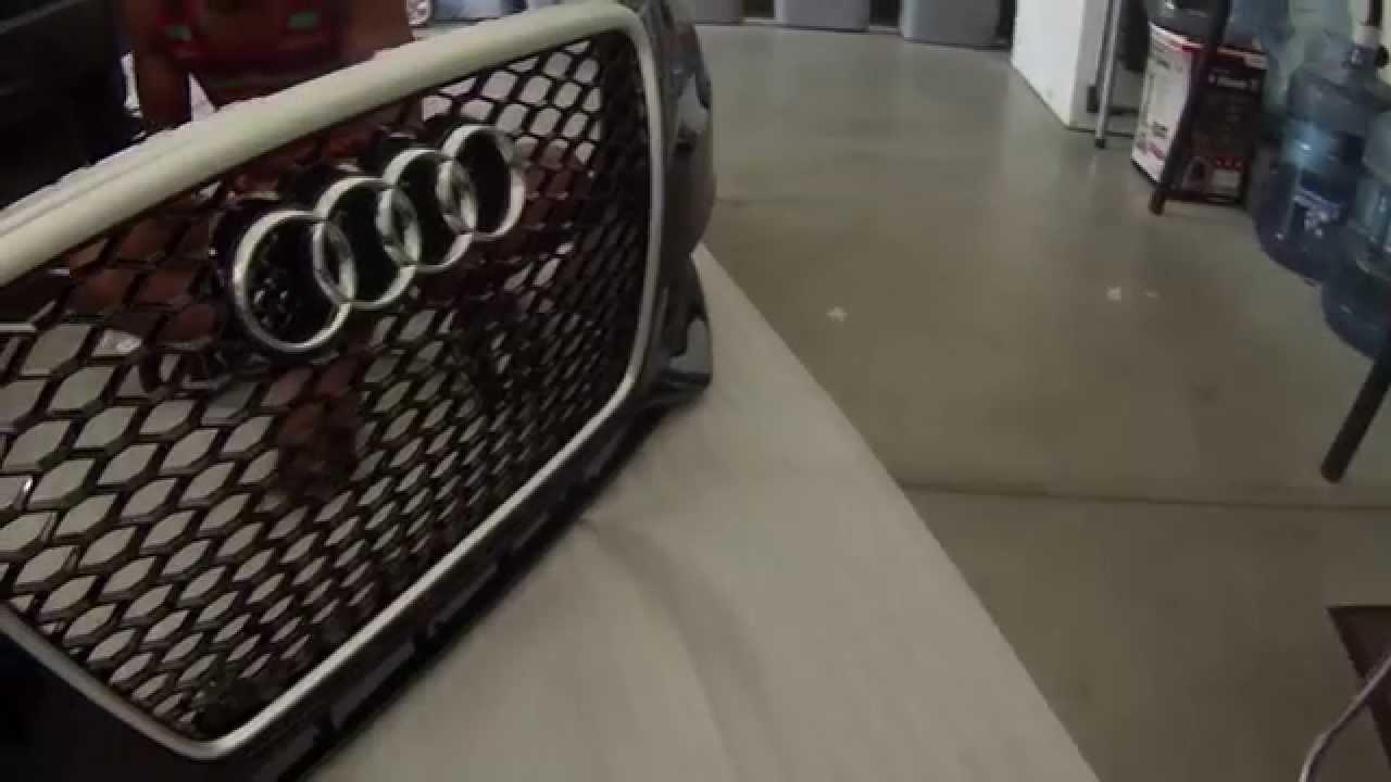 Honeycomb Grill Edit 10 Audi A4 Youtube