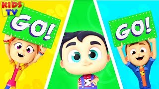 Traffic Safety Song | Baby Songs & Kids Nursery Rhymes | Learning Videos for Children