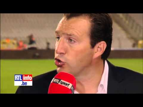 Belgium 2 - 1 Serbia (2014 FIFA World Cup Qualification) 7/06/13 - Interview Marc Wilmots