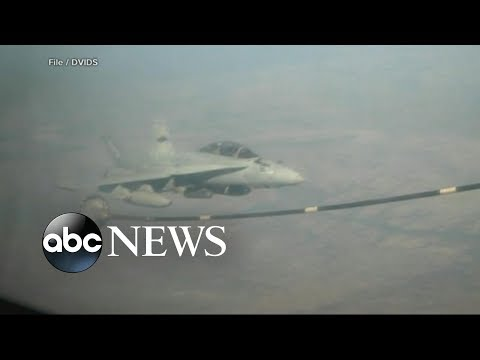Urgent search and rescue after US military plane collision