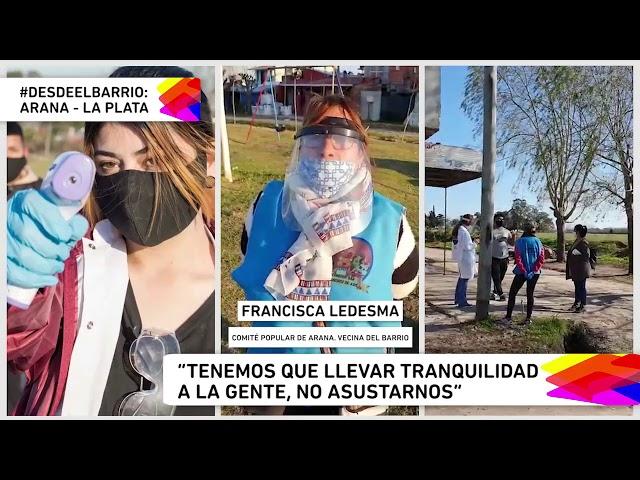 #DESDE EL BARRIO - El Comité de crisis del Barrio Arana de La Plata trabaja en la prevención COVID.