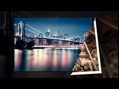 Фотообои город