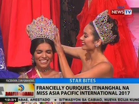 BT: Francielly Ouriques, itinanghal na Miss Asia Pacific International 2017