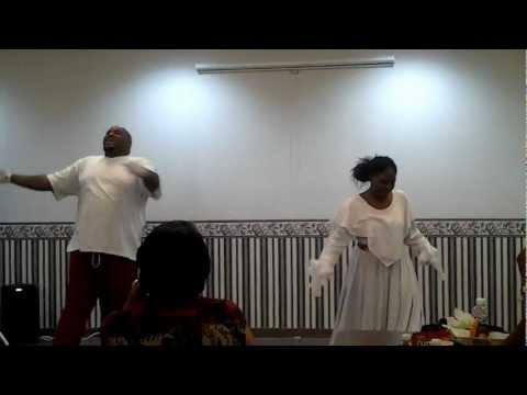 Bread4Life  - Praise Dance; Derick and Latonya Clarke - Part 1 of 2