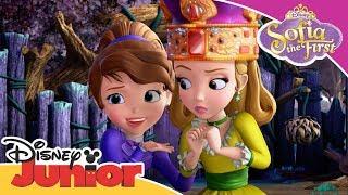 Sofia the First | Sofia Teaches the Romkins to be Gentle | Disney Junior Arabia