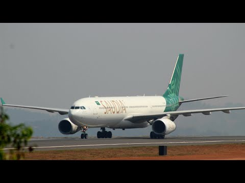 Saudi Airlines [SV746] Landing At calicut Int'l Airport | HD