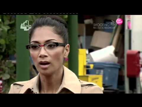 Shooting Nicole Scherzinger - 4Music on the set of Poison (Part 2 - 29th October 2010)