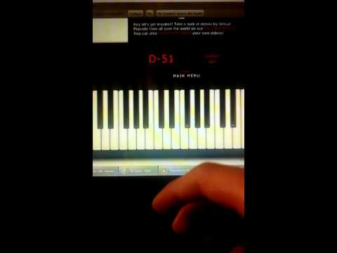 Virtual Piano Promise Reprise Silent Hill