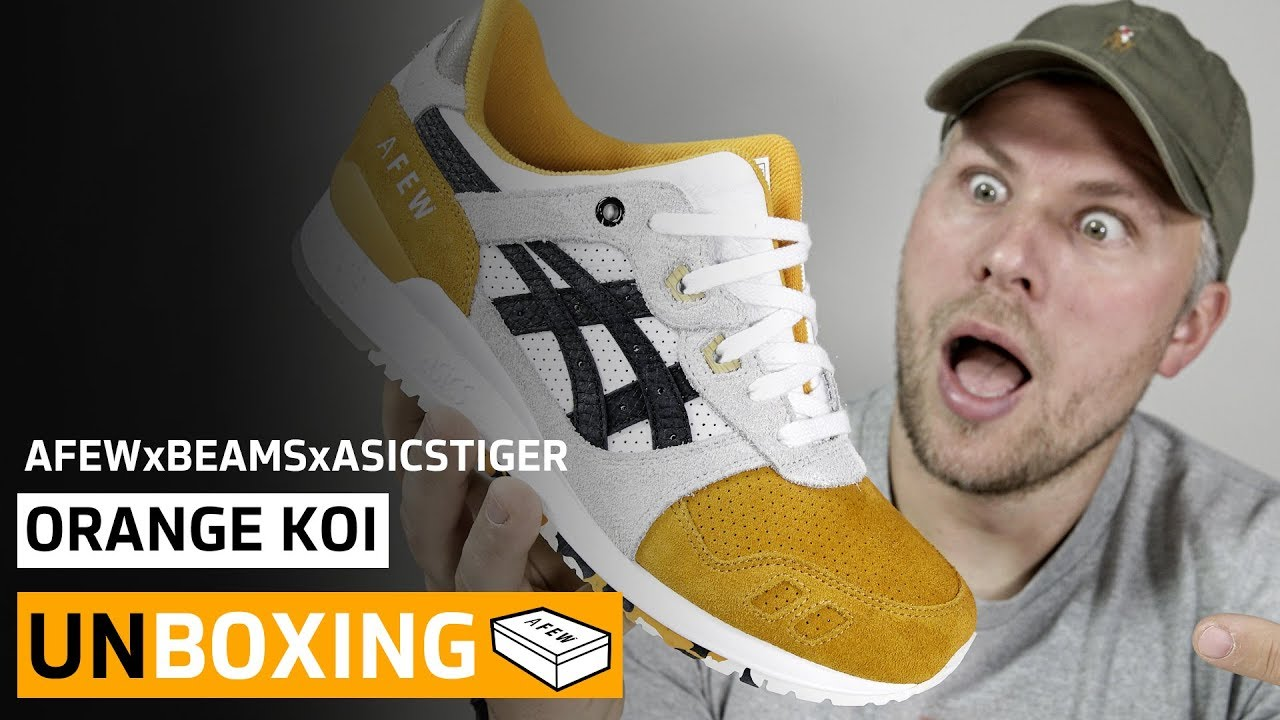 sports shoes 81538 808fb Unboxing - AFEW X BEAMS X ASICSTIGER Gel Lyte III