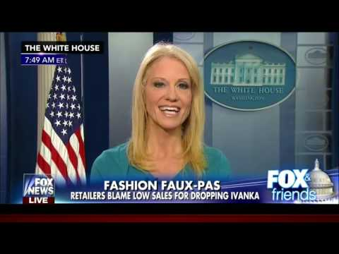 Conway tells Americans to 'buy Ivanka's stuff'