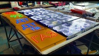 Светодиодное табло для стелы АЗС СТК-003 Led Board for stele gas station STK-003(Светодиодное табло для стелы азс в стандартной комплектации из нашего интернет магазина. Короб табло выпол..., 2016-04-02T15:51:16.000Z)