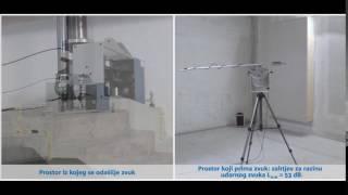 Učinak izolacije udarnog zvuka: trakasti ležaj