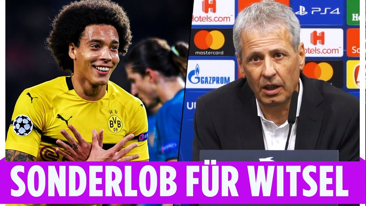 BVB-Gala gegen Atletico | Favres Sonderlob für Witsel