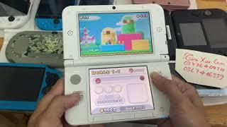 trên tay máy chơi game nintendo 3DS,huyền thoại game console