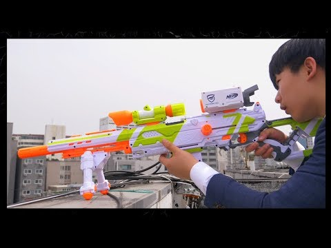 너프전쟁 : 암살 [Nerf War : Assassination] // 코너 Korner