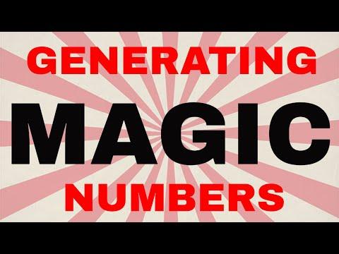 Mql5/Mql4 Coding Generating Unique Magic Numbers