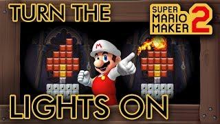 Super Mario Maker 2 - Mario Controls The Lights In This Level