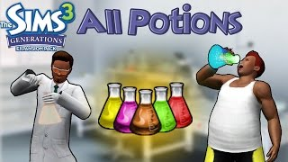 The Sims 3 Generations: All Potions