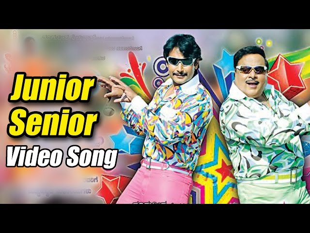 Junior Senior Full Video Song In HD | BulBul Movie | Darshan, Ambarish, Rachita Ram Travel Video
