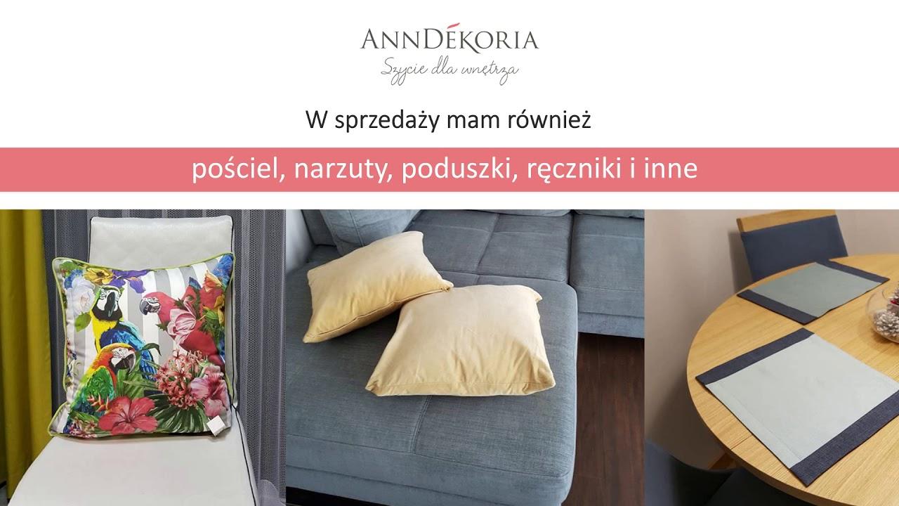 Dekoracje Okienne Szycie Firan Zasłony Katowice Anndekoria