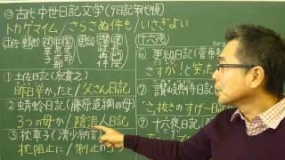 語呂合わせ日本史〈ゴロテマ〉21(古代20/文学史3/日記文学)改