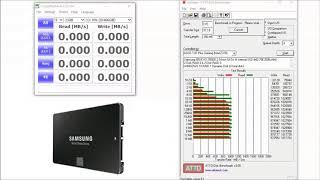 SAMSUNG 850 EVO, 4 Disk, RAID 0+1, Benchmark
