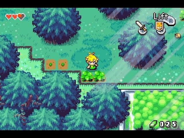 Jouez à Legend of Zelda, The Minish Cap sur Nintendo Gameboy Advance avec nos Consoles Retrogaming
