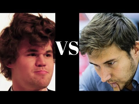 Spanish Game : Magnus Carlsen vs Sergey Karjakin - World Rapid 2012 - Spanish Game: Berlin Defense