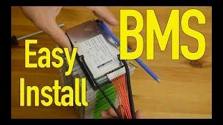 How to add BMS (no spot-weld Vruzend DIY 18650 battery kit)