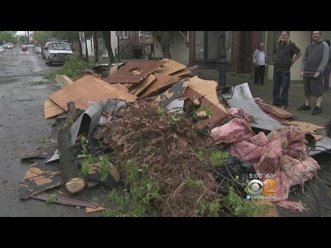 Strong Storm Leaves Trail Of Destruction In Orange County