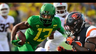 All the Oregon Ducks football and OSU Beavers things I'm thankful for