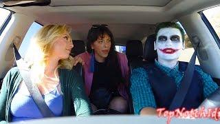 Girl Falls In Love With JOKER as Uber Driver!