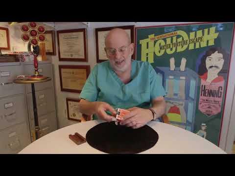 Saturn Magic -Dr. Schwartz's Fantasy Rising Card - Trick