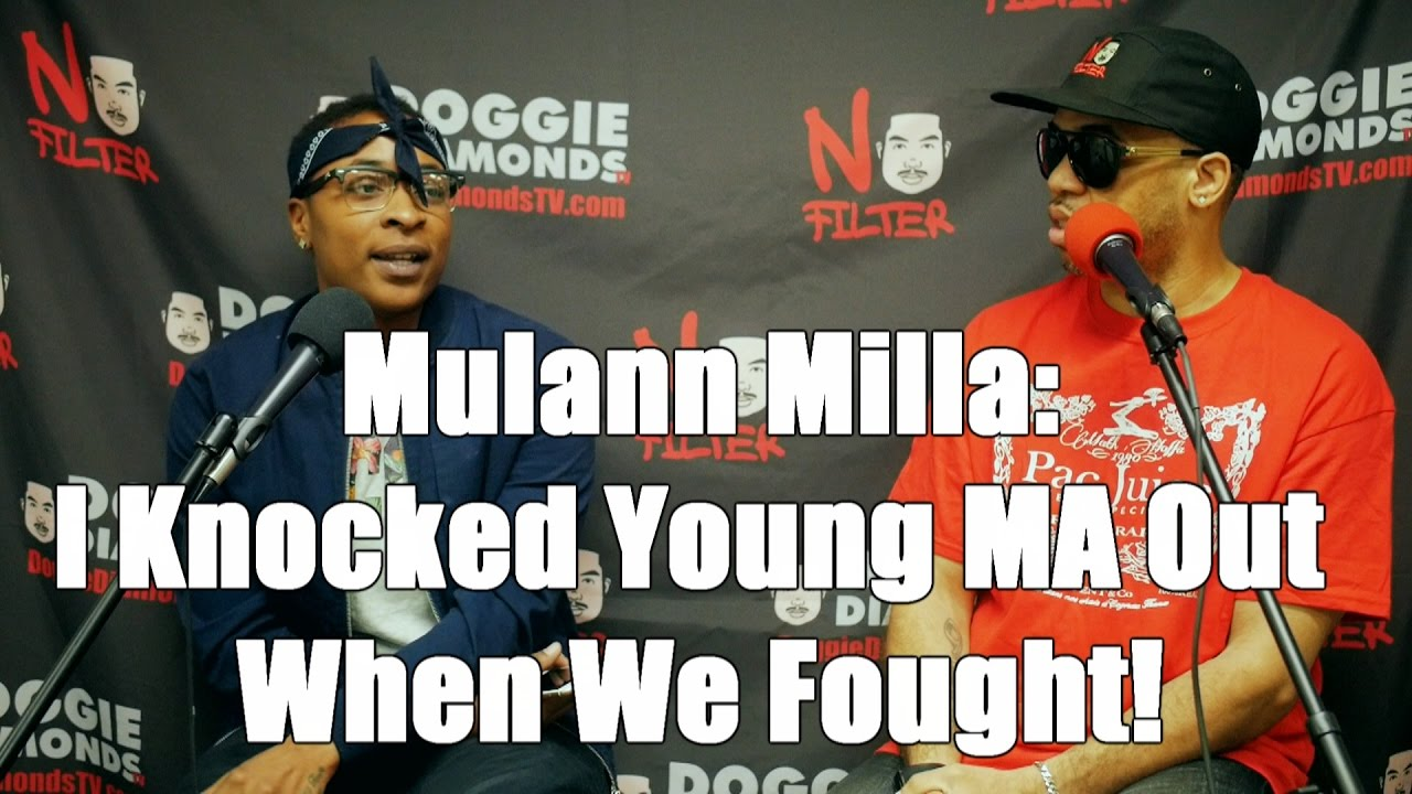 Mulann Milla: I Knocked Young MA Out When We Fought! (Young MA Is Faking Gay Image?)