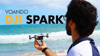 VOANDO COM O DRONE DJI SPARK   INTRODUÇÃO