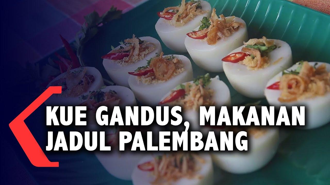 Kue Gandus, Makanan Jadul Palembang