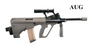 Guns- AUG Sub Machine Gun  Sound Effect