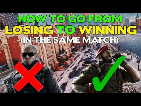 How To Make Mid-Game Adjustments    Rainbow Six Siege Tips